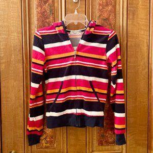 NWOT Juicy Couture Terry Multi Color Hoodie